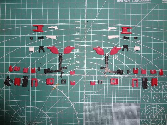 【腕製作】RG ジャスティスガンダム(ZGMF-X09A)製作レビュー⑥【初めてのRG】